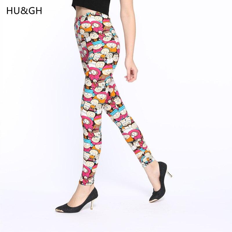 ARDLTME 2019 Cartoon Printing   Legging   Fashion Slim Fitness Women   leggings   High Elastic Cotton Multiple Colors style Causal Pants