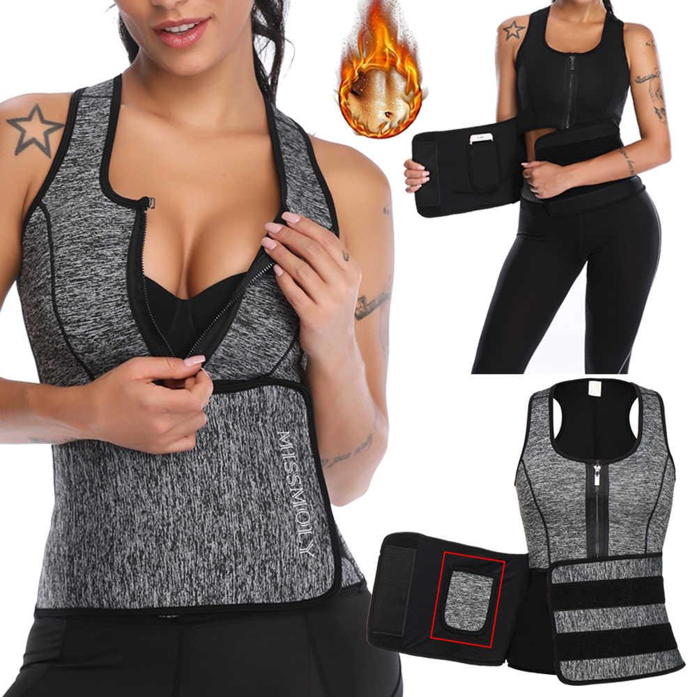Neoprene Sauna Vita Trainer Shaper Della Maglia di Allenamento Estivo Shaperwear Dimagrante Regolabile Sudore Cintura Fajas Dello Shaper Del Corpo