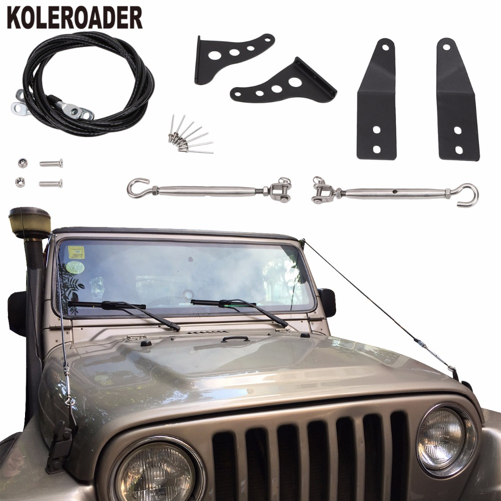 Limb Riser Kit Through The Jungle Protector Obstacle Eliminate Rope 2006 Jeep Wrangler Hood For 1997 Tj In Body Kits From Automobiles Motorcycles On
