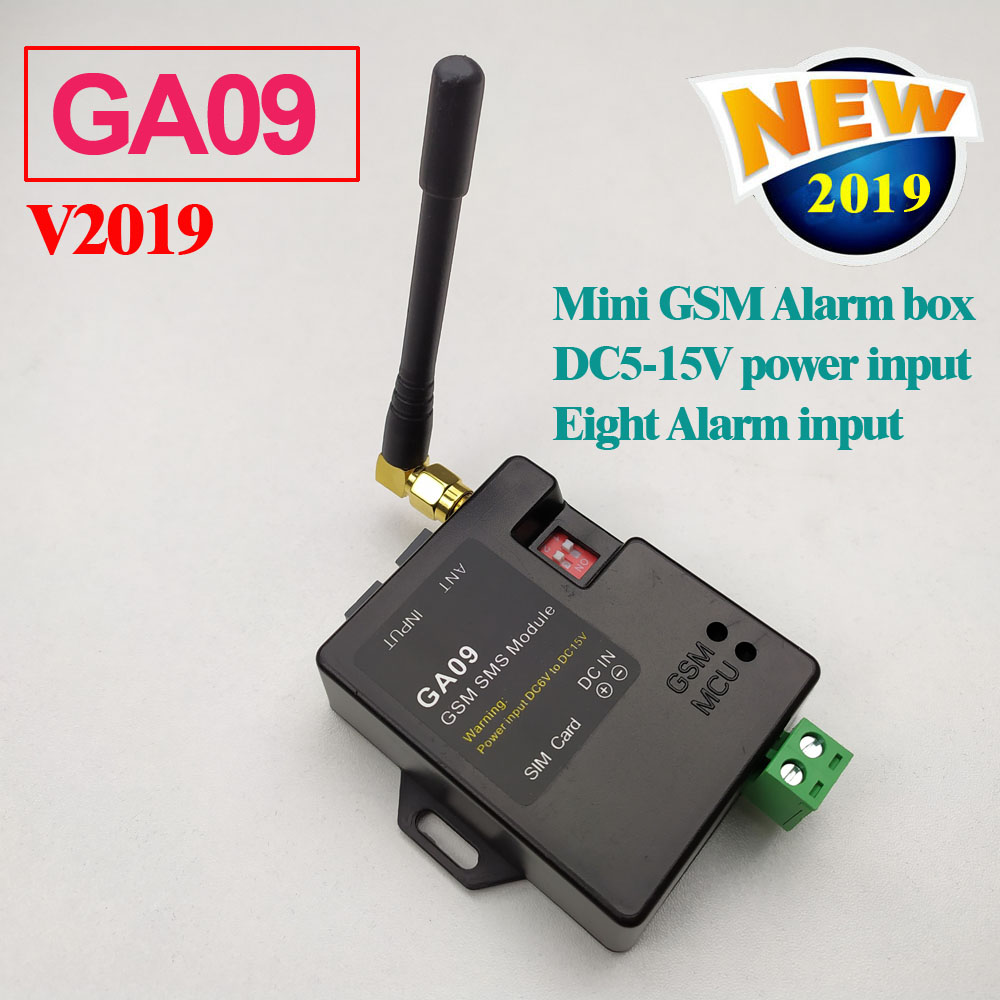 US $36 0 40% OFF|Free shipping GSM Alarm box SMS Alert Wireless alarm GA09  Home and industrial security alarm unit-in Alarm System Kits from Security