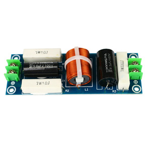 Image 2 - GHXAMP 100W hoparlör orta kademe Crossover 1 yollu bölünmüş tasarım 4 8 inç bağımsız Mid (yapabilirsiniz üç yönlü Crossover) 18db/oct 2 adet