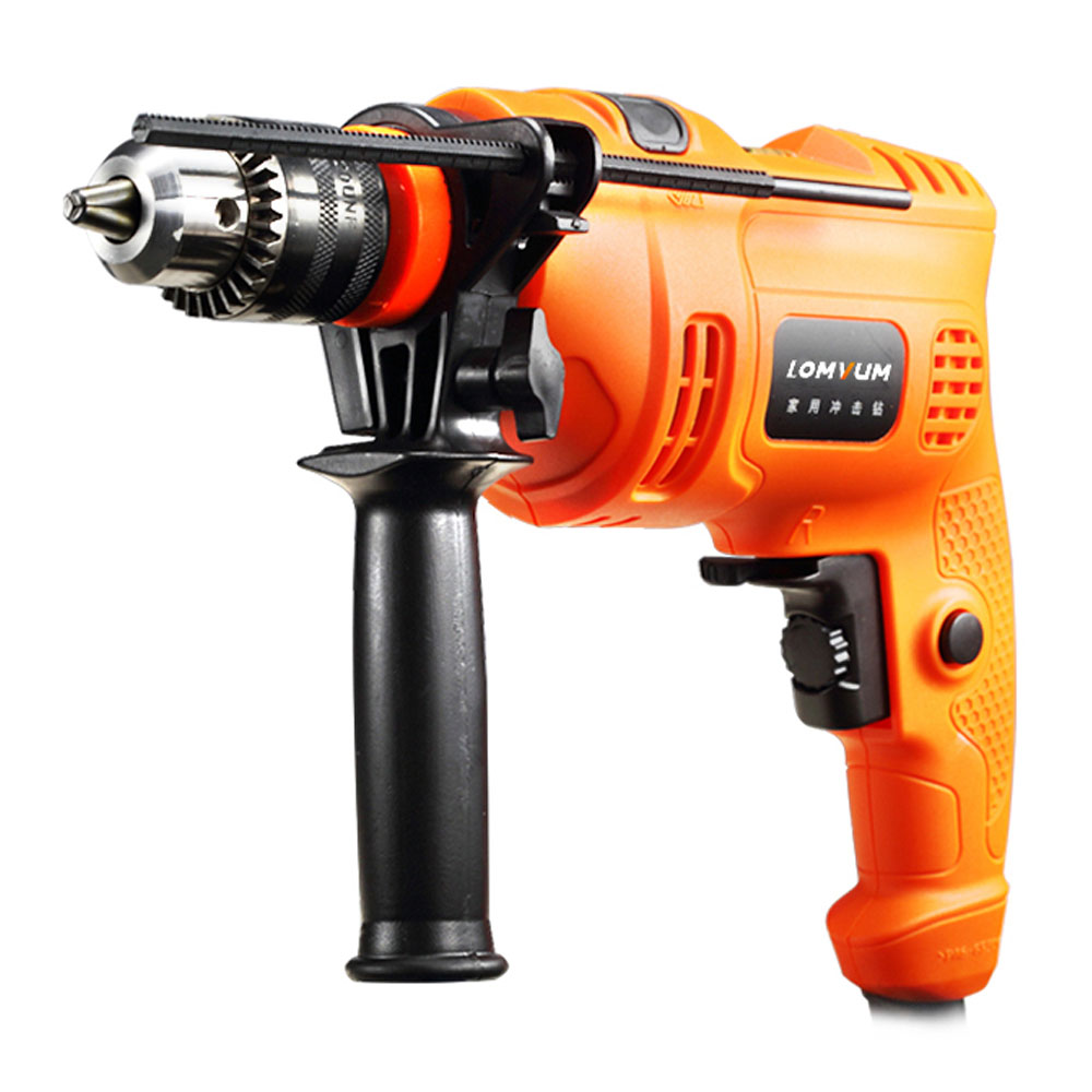 Electric Hammer Impact Hand Drill Screwdriver For Home and Woodworking Power Tool Set 220V Household Multifunction Tools