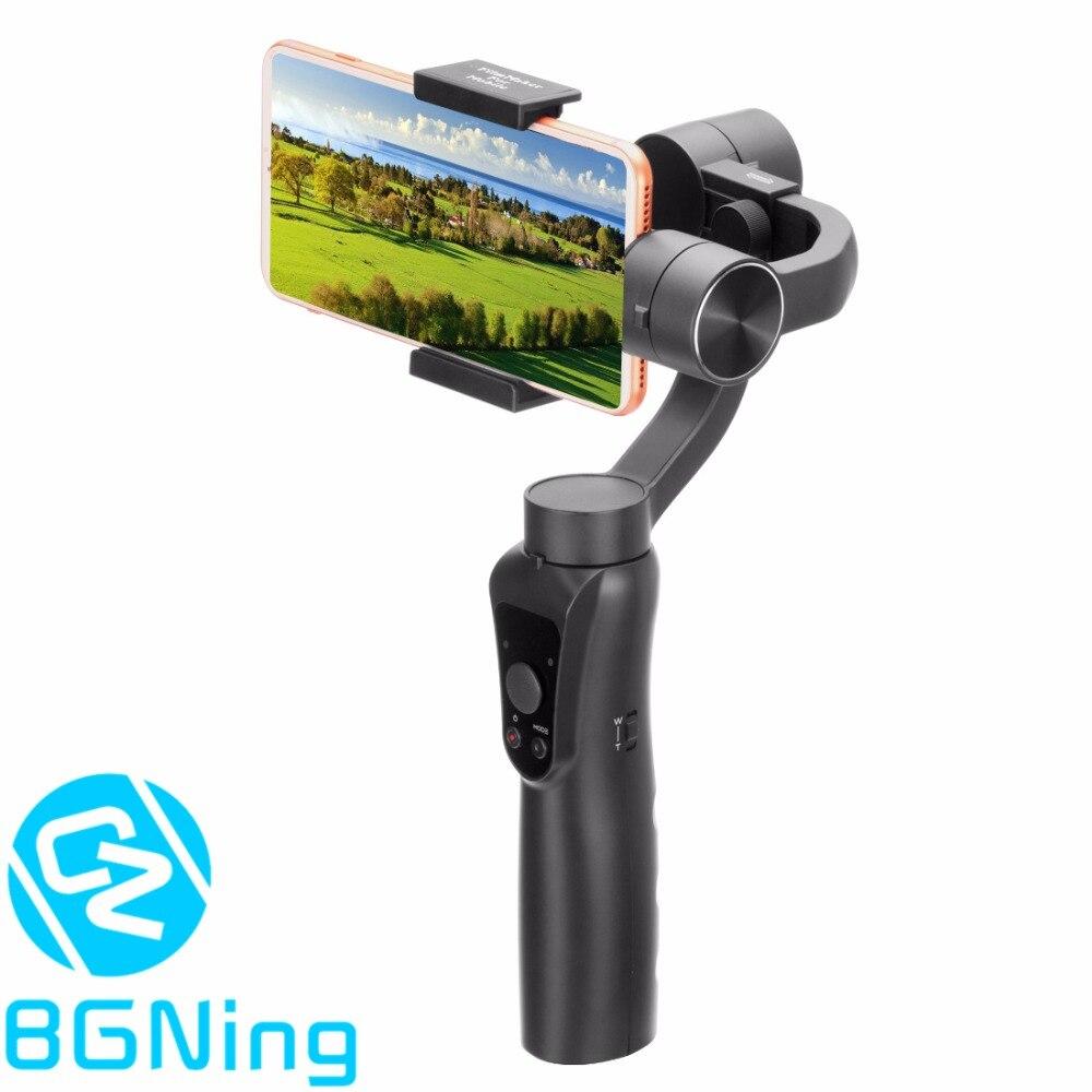 3 axes Stabilisateur De Téléphone Portable Selfie Bâton Anti-shake Vivre Tir Cardan Tenu Dans la Main De soutien Gopro Caméra PK Zhiyun feiyuTech