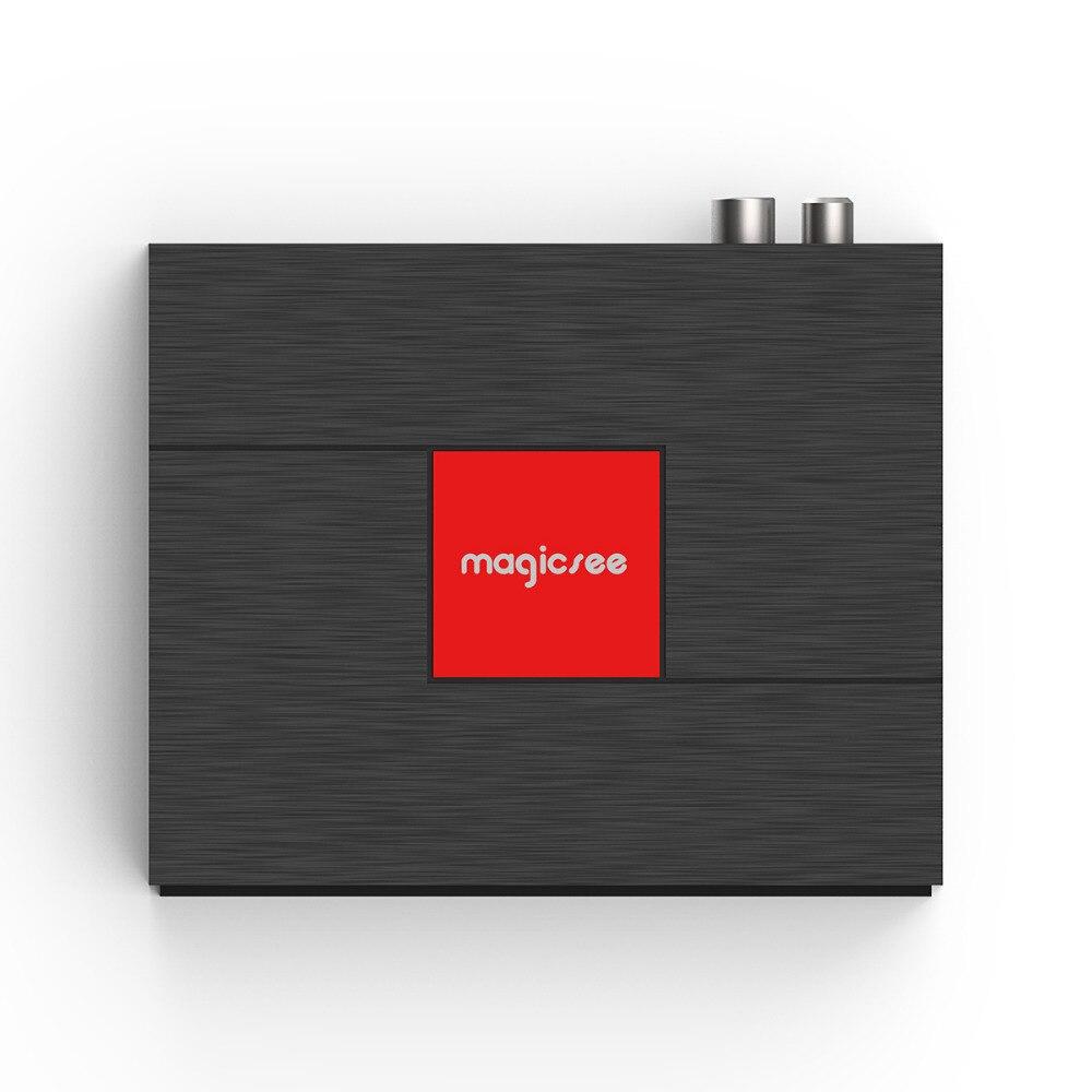 Magicsee C400 Plus Amlogic S912 Octa Core Box TV 3 + 32 GO Android 4 K Boîte de TÉLÉVISION Intelligente DVB-S2 DVB-T2 Câble Double WiFi Lecteur Multimédia Intelligent - 5