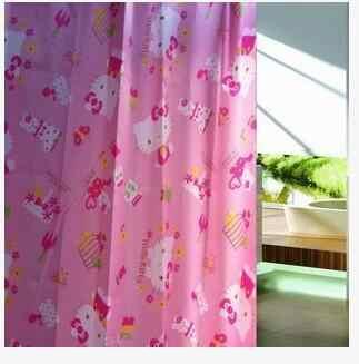 Com 8 ~ 10 Pcs Gancho Bonito Dos Desenhos Animados Peva Cortina de Chuveiro À Prova D' Água Para O Banheiro
