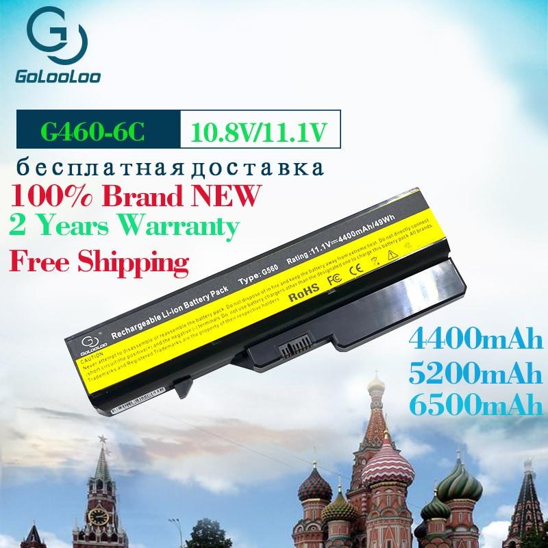 6Cell 11.1V Laptop Battery For Lenovo G460 G560 G465 E47G L09L6Y02 L09S6Y02 L10P6F21 LO9S6Y02 b570e V360A Z370 K47A Z560
