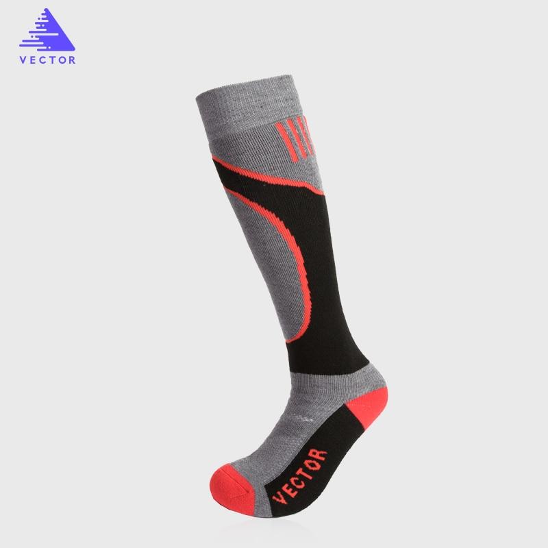 Vector Brand Skiing Socks Winter Warm Men Women Socks Thermal Thick Cotton Sports Snowboard Cycling Skiing Soccer Socks ACC30025
