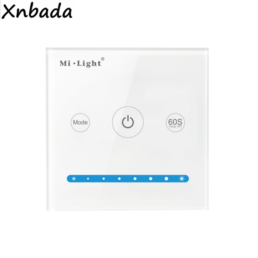 Persevering Milight P1 Smart Panel Led Controller Compatible With Brightness Dimming For Single Color Led Strip Dc12-24v With Traditional Methods Lighting Accessories Lights & Lighting