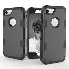 Luxury Robot Shockproof 360 full Protect Case For iPhone 8 7 6 6S Plus Hybrid TPU Silicone+Hard Rubber Armor