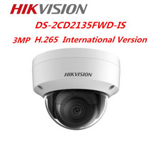 Hikvision DS-2CD2135FWD-IS 3MP IP Camera H.265+ POE IP67 Hikvision Original CCTV Camera Repalce DS-2CD2135F-IS Network Camera