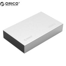 Orico 3518s3 алюминиевый sata 3.0 до usb3.0 типа b 2.5/3.5 дюймов ssd/sata hdd корпус хранения (3518S3)