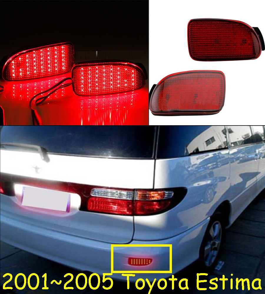 Estima breaking light;2001~2005,Free ship!LED,Estima rear light,LED,2pcs/set,Estima taillight;prado rear light