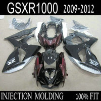 Custom Free Injection Fairing Kits For SUZUKI GSXR 1000 2009 2010 2011 2012 K9 GSXR1000 09