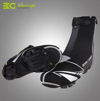 BASECAMP Buty Kolarskie Nosić Toe Pokrywa Wodoodporna Odblaskowe Pyłowych Rowerów Bike Cykl Protector Boot Covers