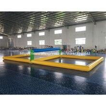Надувная водная волейбольная площадка по индивидуальному заказу