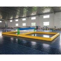 Customzied надувные водные волейбола, забавные надувные пляжного волейбола, круто надувные волейбольная площадка для продажи
