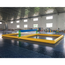 цена на Customzied Inflatable Water Volleyball Court,Funny Inflatable  Beach Volleyball Court,Cool inflatable volleyball court for sale