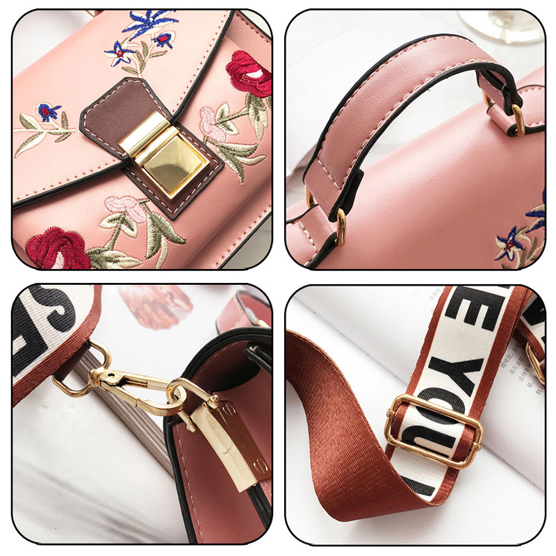 Fularuishi 2019 New HandBags Lady Pu Leather Printing Women Bags Fashion Shoulder Bags Female Design Bags 5