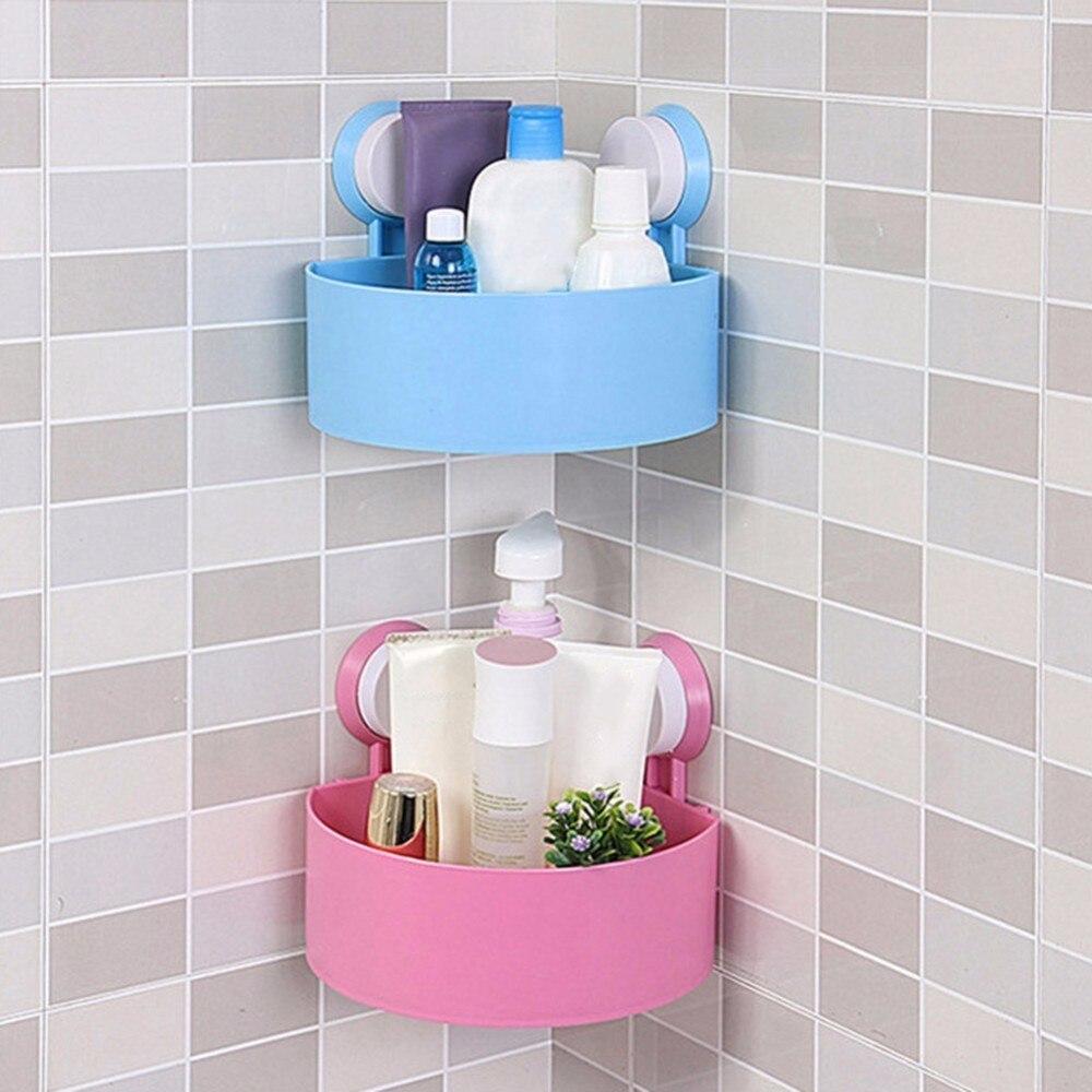 New Style Suction Cup Bathroom Shelves Washroom Toilet Racks Wall ...