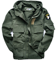 Military style M65 jackets for men pilot coat usa army 101 air force bomber  jacket 3 colors can chose
