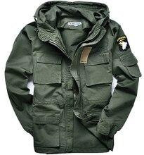 Military style M65 jacken für männer pilot mantel usa armee 101 air force bomber jacke 3 farben können wählen