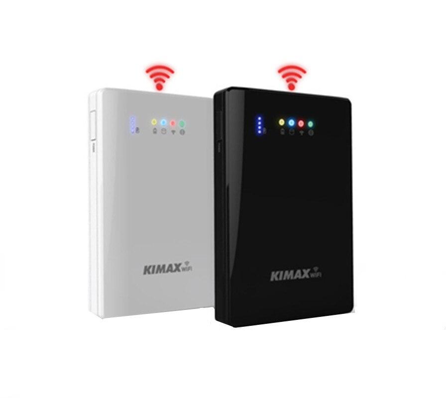 купить 2.5 Inch WiFi Hard Disk Box Mobile Power Bank 4000mAh External HDD Case Wifi Repeater Wifi extender storage bas онлайн