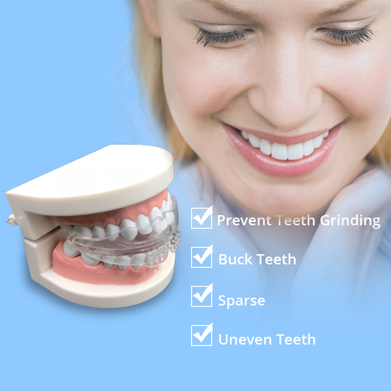 Mouth Braces Instanted Silicone Smile Teeth Alignment Trainer Teeth Retainer Mouth Guard Protective Tooth Tray 3 Stages