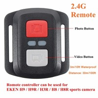 Remote Control 2 4G Shutter For EKEN H9 H9R H3R H8 H8R Sport Action Camera Remote