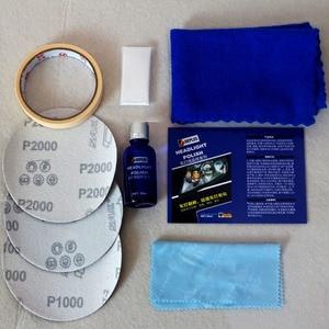 Image 2 - Car Headlight Restoration Kit Auto Headlight Renovation Repair Agent Scratches 9H Hardness Headlamp Polishing Car Care Repair