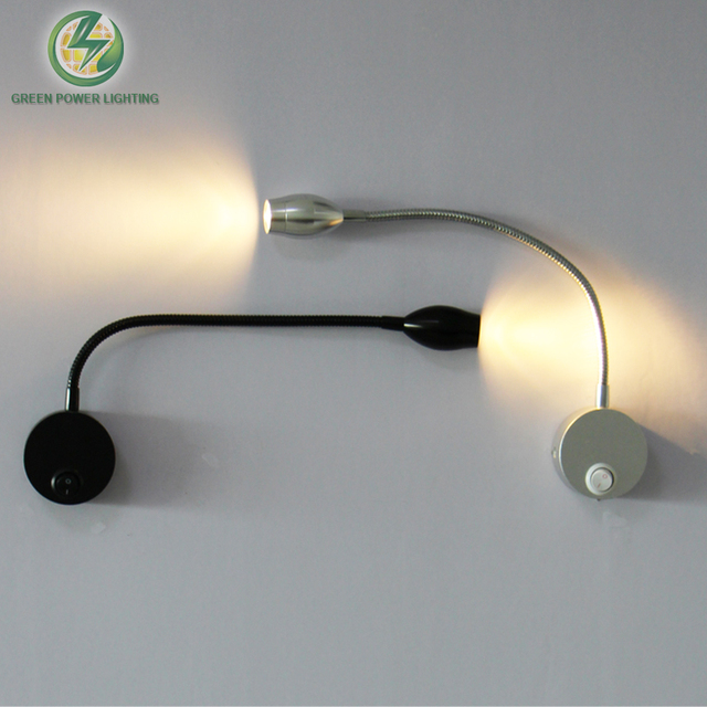 Flexible Souple Tube Ajustable Led Wall Light, Intérieur Applique