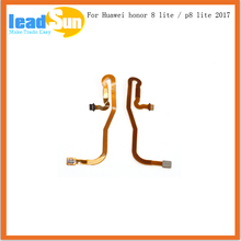 For Huawei p8 lite 2017 Home Button Fingerprint Sensor Scanner Touch ID Connecter Motherboard Flex Cable for huawei honor 8 lite