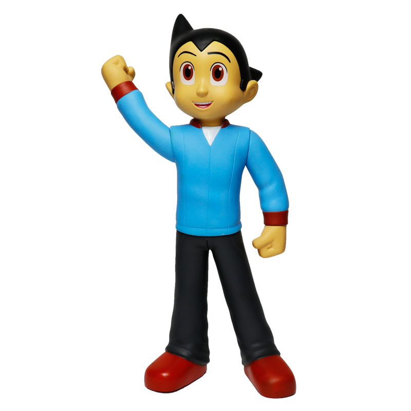 30CM Astro Boy Freddie Highmore Cartoon Tetsuwan Atom Cute Decoration Anime PVC Action Figure Collectible Model Toy L1391