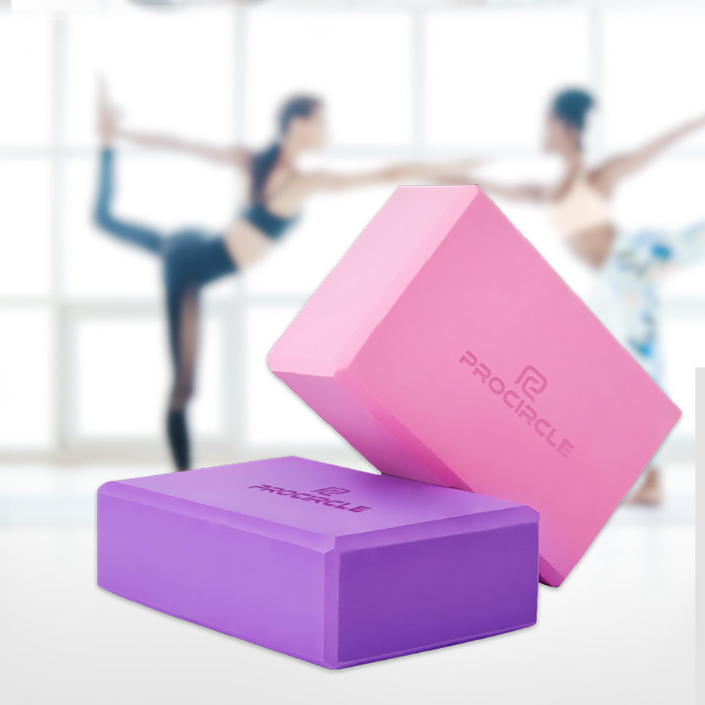 ★  4 Цвета Ева Йога Блок Фитнес-Тренировки ★
