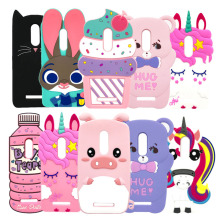 For Xiaomi Redmi Note 4 Case X Cover 3D Unicorn Cat Rabbit Soft Silicone 4X Phone Cases