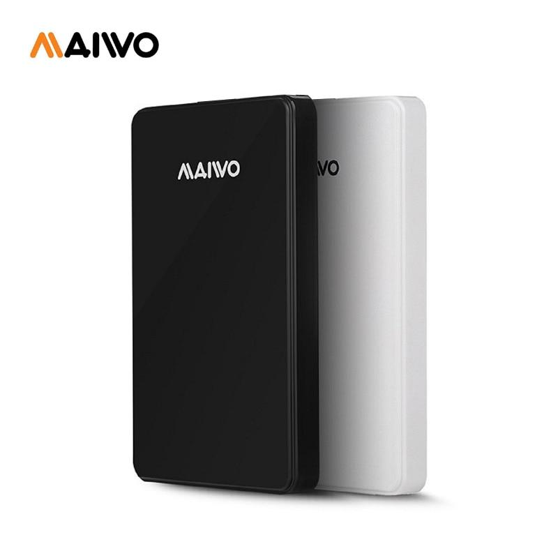 Free shipping MAIWO Original Portable HDD USB3.0 Storage External hard drive 750GB Desktop and Laptop Plug and Play Best price