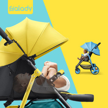 SLD baby stroller scientific design folds easily and conveniently 0-3 years 7 kg carrying capacity 25 kg. steel frame EVA wheels
