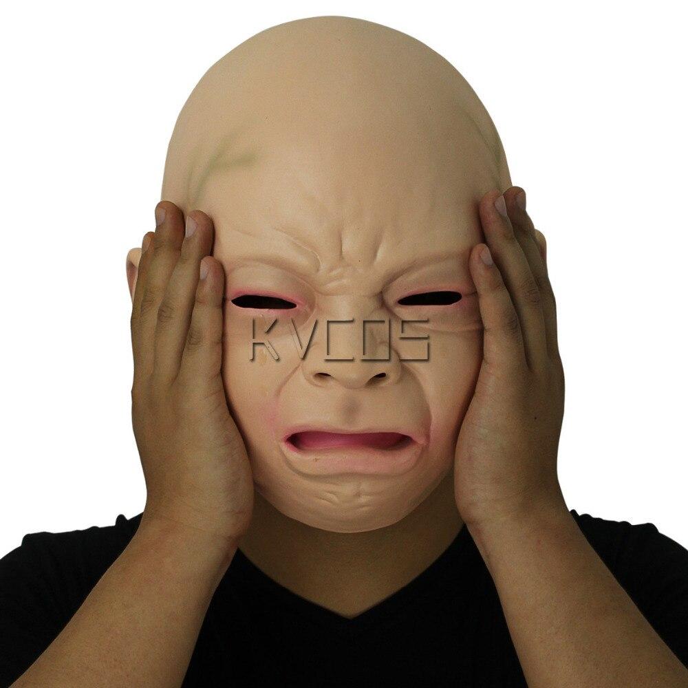 Aliexpress.com : Buy Unisex Latex Scary Crying Mask Costume ...