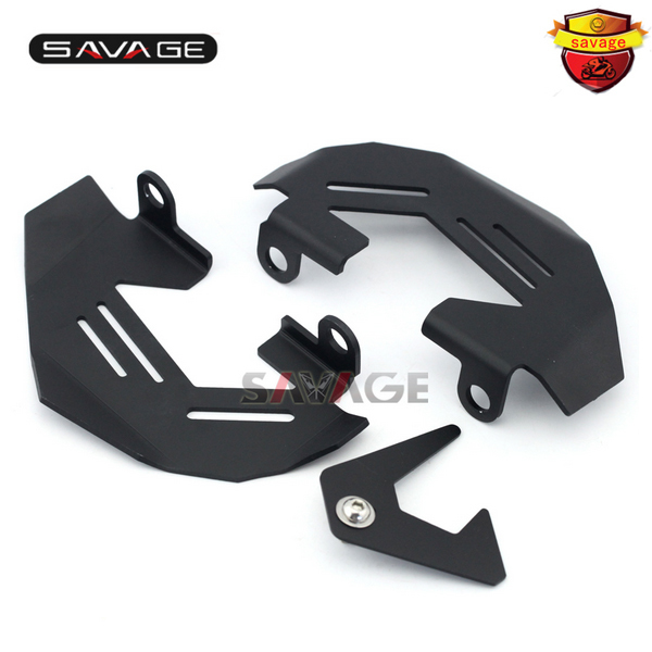 For BMW R1200GS LC/Adv 14-16, R1200R R1200RS S1000XR 15-16 Motorcycle Aluminum Front Left & Right Brake Caliper Cover Guard for bmw r1200gs lc adv 13 16 r1200r r1200rs 2015 2016 motorcycle aluminum front