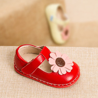 0 2 year Baby Toddler Shoes 2018 Autumn New T strap Leather Shoes Soft Bottom Girls Shoes