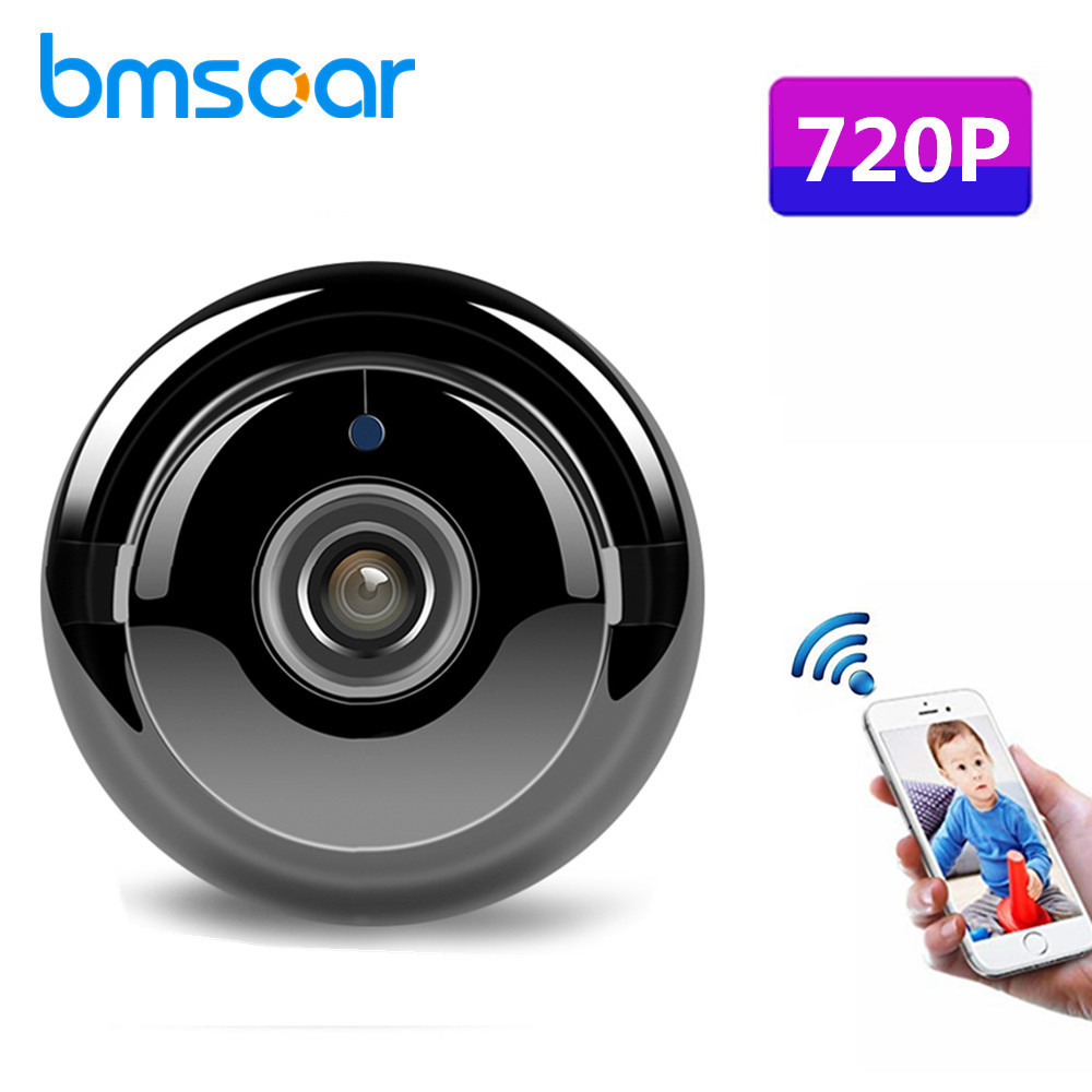 Fisheye 180 Degrees IP Camera 720P HD Wifi Mini Security Home CCTV IR Camera Support TF Card Two Way Audio Baby Monitor YOOSEE цена