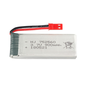 1pcs 3.7V 900mAh lipo Battery For 8807 8807W A6 A6W Rc Quadcopter Spare Parts Accessories Rc Drones 3.7v lipo battery 752560 image