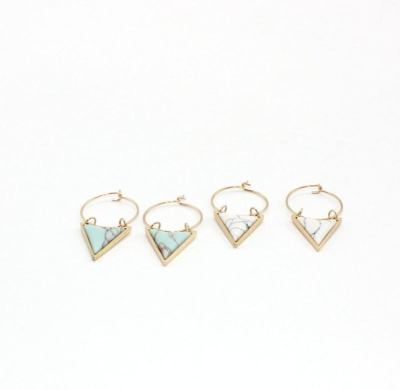 Բոհեմիա եզակի շրջապատող եռանկյունի - Նորաձև զարդեր - Լուսանկար 6
