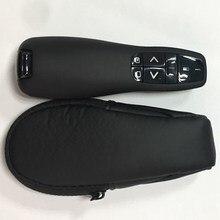 Apresentador de ponteiro ppt com laser vermelho, 2.4g usb controle remoto, controle de ponto de alimentação, substituição para logitech r400