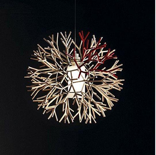 Modern csillár ipari lámpaModern kreatív csillár Pendientes - Beltéri világítás