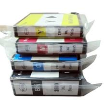 4x compatible  PGI 2500 XL BK / C / M / Y ink cartridge for canon MAXIFY iB4050 MB5050 5350 Printer pgi 2500 pgi2500 refill ink cartridge and 500ml pigment ink for canon pgi 2500 cartridge for canon mb4050 mb5050 mb5350 printer