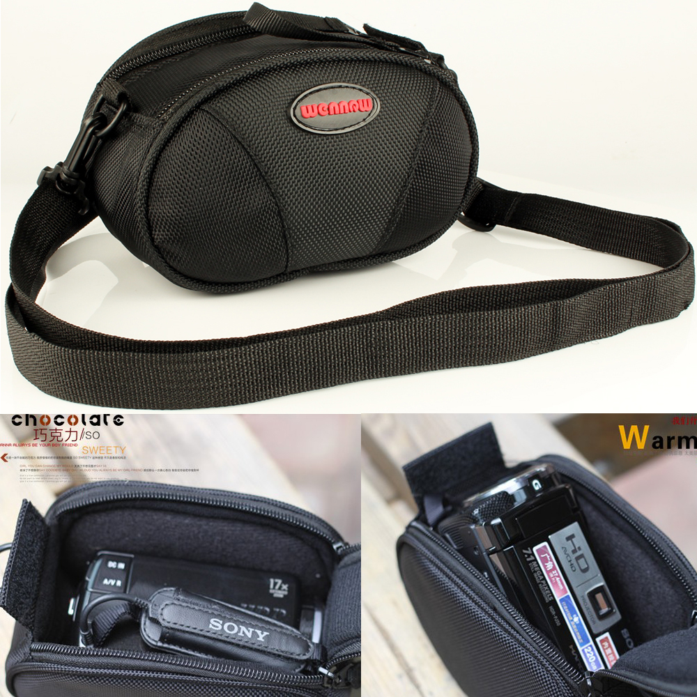 Camera Camcorder DV <font><b>Case</b></font> Bag For Panasonic V750 <font><b>V700</b></font> V100 V110 V130 V160 V180 V250 V270 V380 V550M W580M Sony Canon DV Pouch image