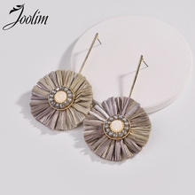 Joolim Jewelry Wholesale/ Round Tassel Earring 3 Colors European Wholesale