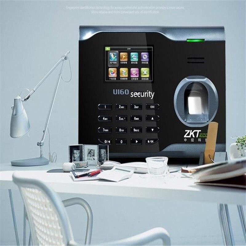 WIFI sans fil d'empreintes digitales temps de présence employé horloge de travail u160 enregistreur de temps réseau TCPIP RS232/485 présence des travailleurs