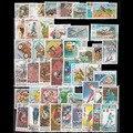 Sellos postales de papel sin repetición, 1900 Uds., Todos diferentes, en buenas condiciones para coleccionar
