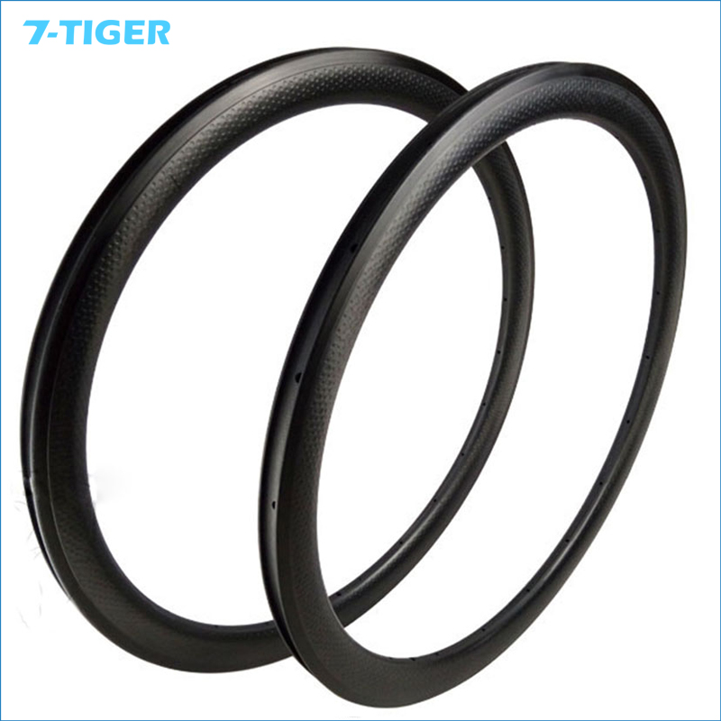 7-TIGER carbon dimple rims 58mm Depth 25mm wide dimple tubular 700c  high t700 full carbon wheels rims UD matte carbon wheels 700c 88mm depth 25mm bicycle bike rims 3k ud glossy matte road bicycles rims customize carbon rims